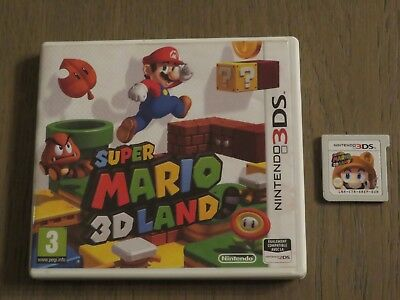 JEU NINTENDO 3DS  SUPER MARIO 3D LAND  COMPLET EN FRANCAIS