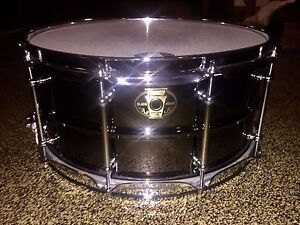 Ludwig Black Magic Snare 14x6.5' Newstead Brisbane North East Preview
