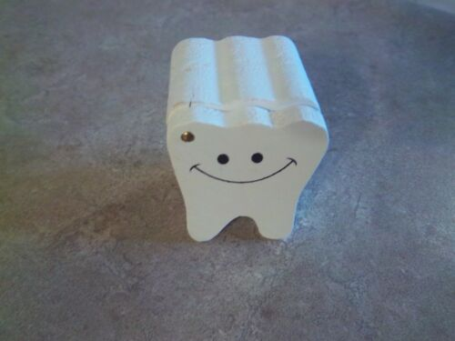 1 - Wooden Tooth Fairy Treasure Box - Childs