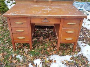 Large Old school desk!