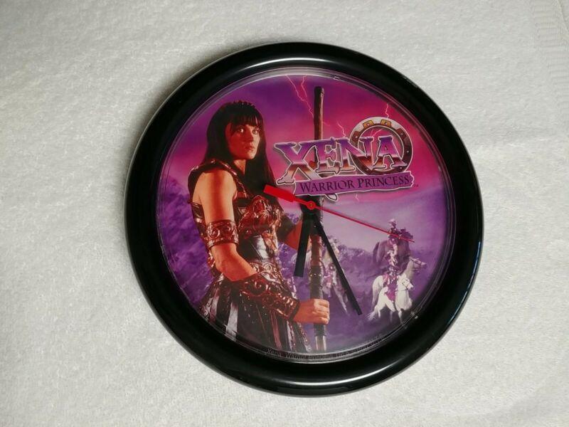 Rare Vintage Xena Warrior Princess Wall Clock Great Working Condition