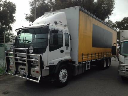 Isuzu FVM1400 Long Lazy axle 14 Pallet Tautliner/Curtainsider Flinders Park Charles Sturt Area Preview