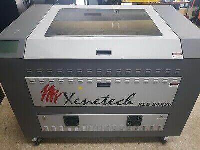 Xenetech Laser Engraver 60 Watt 36 X 24 Epilog Trotec Universal