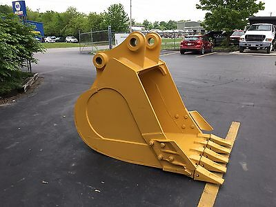 New 36 Caterpillar 320 Heavy Duty Excavator Bucket With Coupler Pins