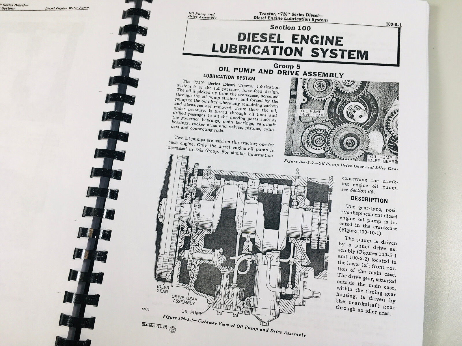 Technical Service Manual For John Deere 720 730 Diesel Tractor