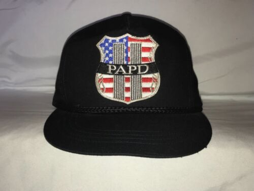 Port Authority Police Department New York PAPD 9/11 Hat Snapback Twin Towers
