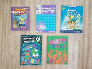 Assorted primary school maths workbooks Sydney City Inner Sydney Preview