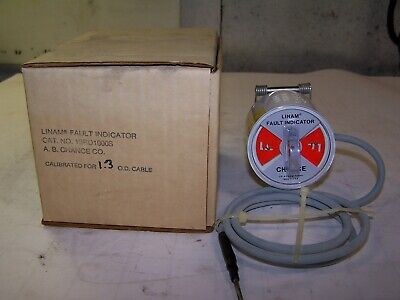 New Ab Chance Linam Fault Indicator Calibrated For 1.3 Od Cable 1srd1000s
