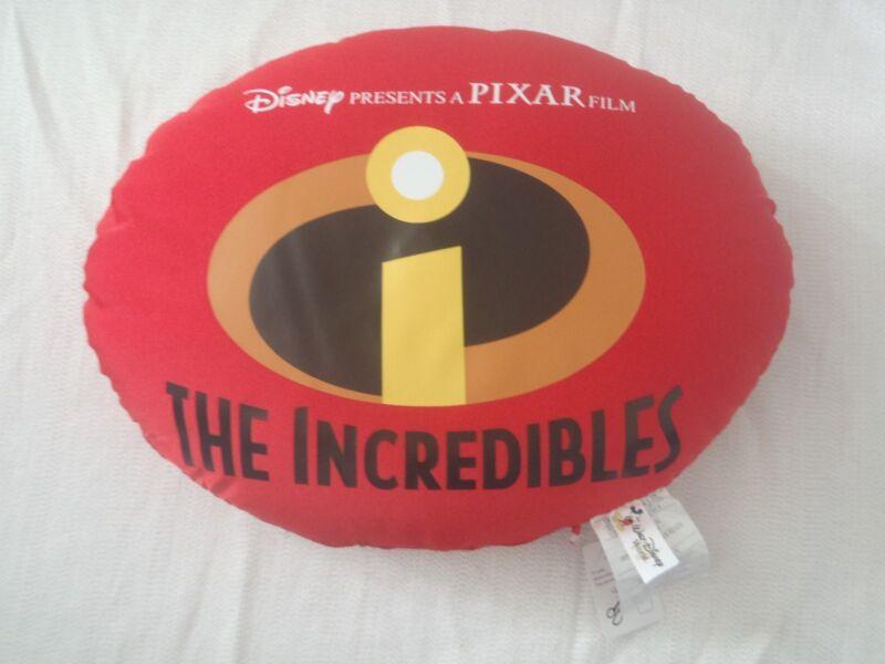 "NEW! 2005 Walt Disney World PIXAR'S THE INCREDIBLES Micro-Bead Pillow 15"" x 11"""