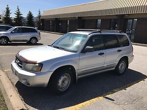 2003 subaru forester 5speed