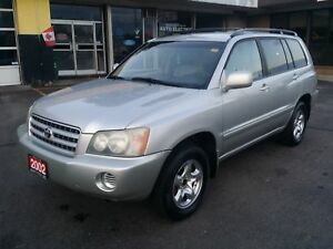 2002 TOYOTA HIGHLANDER 4x4, GOOD CONDITION, RUNS & DRIVES GREAT!