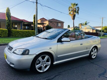 2003 Holden Astra Convertible TURBO Leather Seats Long Rego Moorebank Liverpool Area Preview