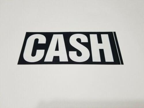Johnny Cash STICKER 2005 The Legend 7.5 in x 3 in