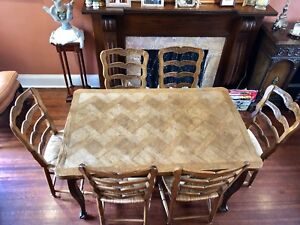 French Country Table & Chairs - BEST OFFER