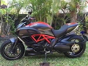 2013 Ducati Diavel Carbon Red ABS Darwin CBD Darwin City Preview