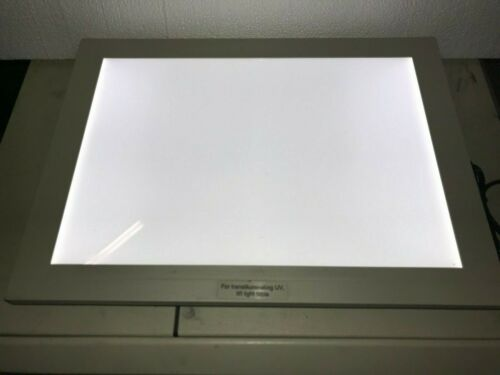 Visual Plus VP-5000A White Light Board, VP5000A with AC Adaptor, Working
