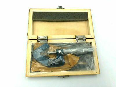 Linear 50-165-015 V-anvil Micrometer 1-15 Mm.