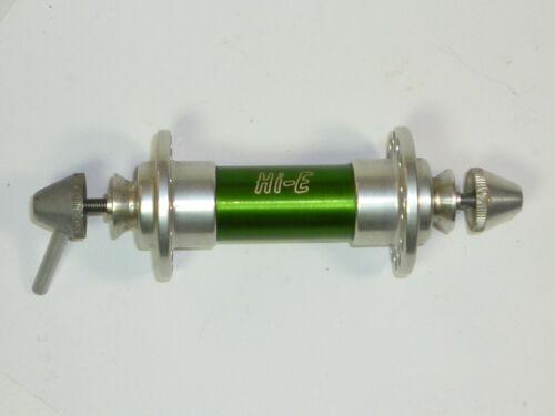 Vintage Hi-E Sealed-Bearing Front Hub, 28H Green 100mm w/ Skewer Road MTB NOS