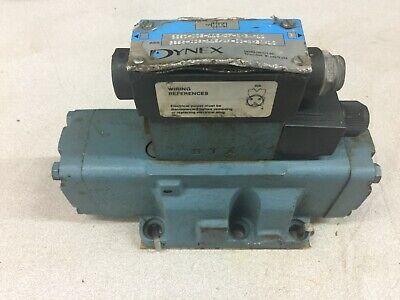Used Dynex Hydraulic Solenoid Valve Assy 6625-d08-115df-id-bh3a-10