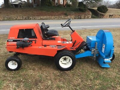 Very Nice Jacobsen Turfcat 1423d Diesel Parking Lot Blower