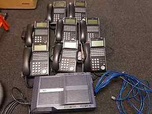NEC SV8100 Phone System with 8 Handsets Kent Town Norwood Area Preview