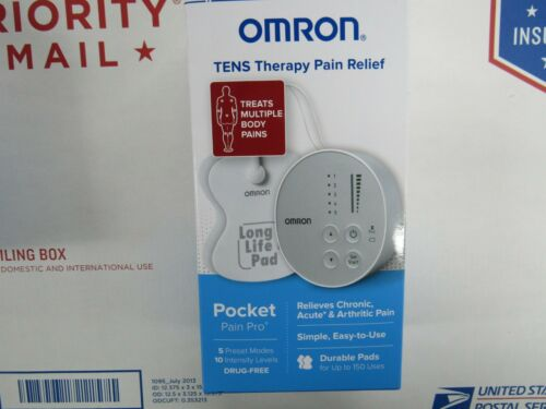 Omron Tens Therapy Pain Relief PM400 Pocket Pain Pro New Sealed - EXP 02/22