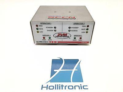 Semtronics Zvm Staic Control Communications Network Zero Volt Monitor Zvm1002
