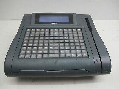 Cash Register Micros Keyboard Workstation 4 Credit Card Pos Terminal 400700-001