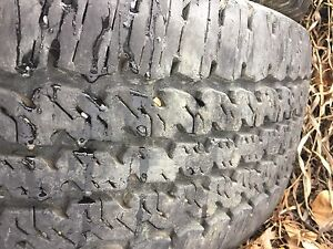 LT 275/70R18 Continental Conti track TR set of four tires