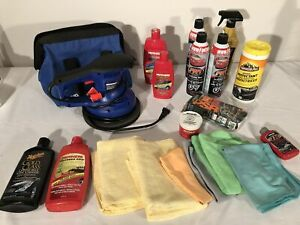 """8"""" car polisher and car cleaning /waxing supplies"""