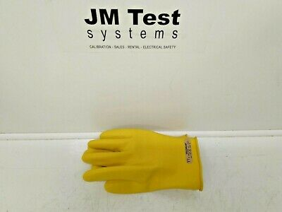 Salisbury E0011y11h 11 12 Class 00 Rubber Insulating Gloves Inv