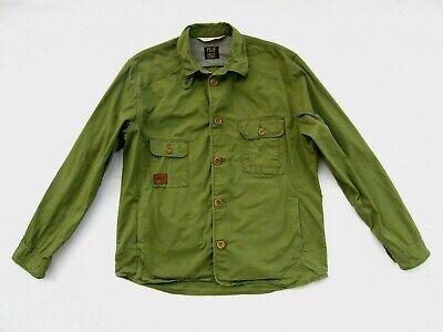 Paul Smith Jeans Green Light Cotton Over Shirt Jacket Men's UK Size XL Fits L