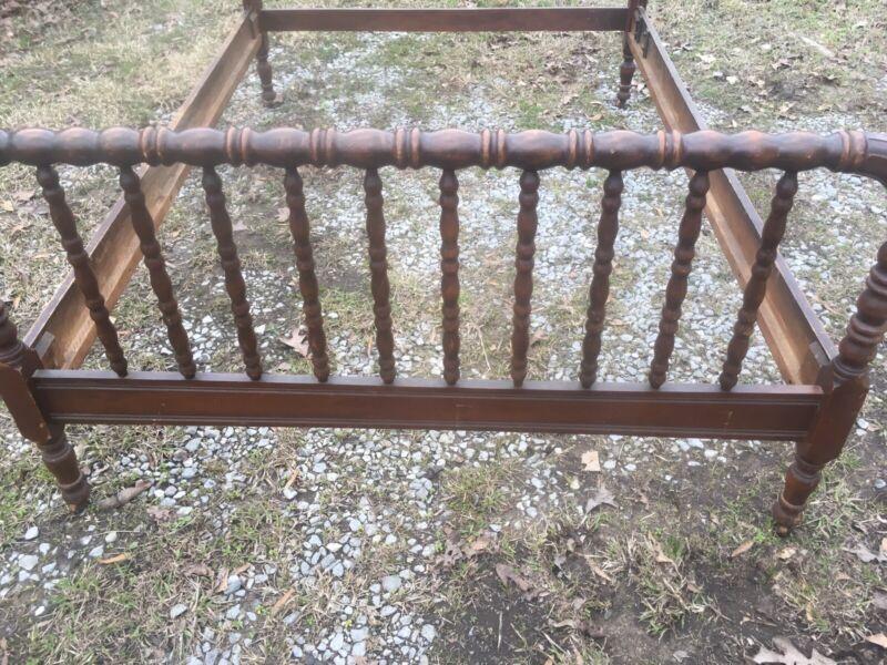 jenny lind full size bed frame