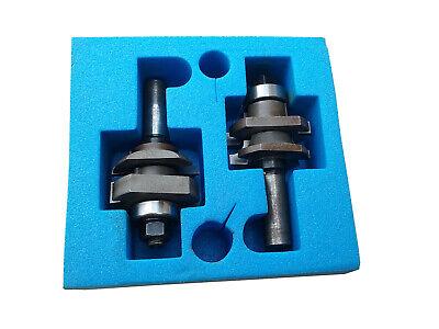 55420 Amana Tool 2 Piece Stile Rail Cutter Set Concave