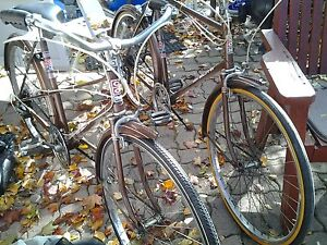Vintage five speed his and hers road cruiser bikes