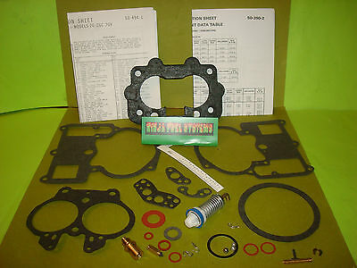 """SBC BBC Carb 1//2/"""" Open Phenolic Carburetor Spacer Fits Holley Chevy 4bbl New"""