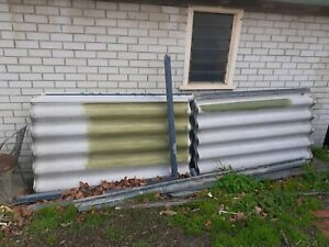 Free - 11 x 1800 Hardi fence with posts and rails