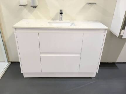 Bathroom Cabinets Gumtree vanity bathroom 1200mm unit with free faucet with stone bench top