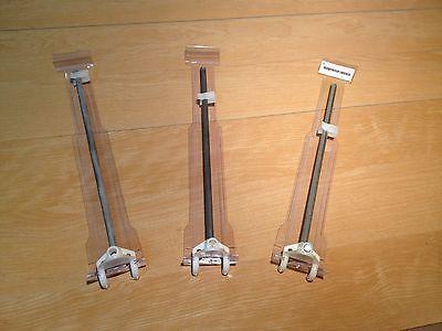 Lot Of Dozen 9 Peg Board Slate Wall Hooks Tag Holders Store Hangers