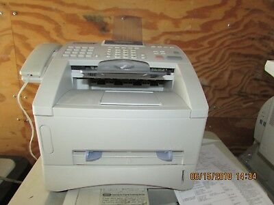 Brother Intellafax 4750e Plain Paper Fax 120 Day Warranty With Buy It Now