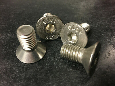 4 x Volvo Brake disc rotor securing retaining screws bolts