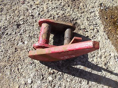 International 460 Utility Tractor Ih Fasthitch Bottom Mounting Brace Bracket