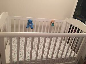 Baby cot and mattress cheap Forrestfield Kalamunda Area Preview