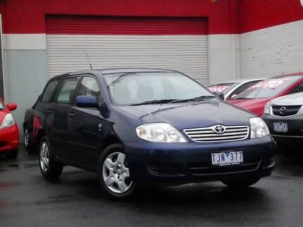2005 Toyota Corolla Wagon *** LOW KMS *** $8,990 DRIVE AWAY *** Footscray Maribyrnong Area Preview