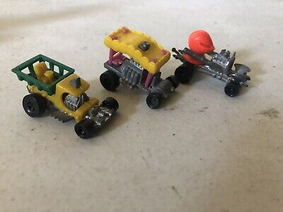 Vintage Zowees Hot Wheels Micro Mini Shell Knight Bed Buggy C Cab Truck Lot