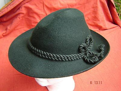 bayrischer Trachtenhut Werdenfelser fester Wollfilz  trachtengrün zur - Bayrischer Hut