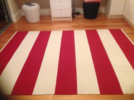 Armadillo stratum band stripe rug