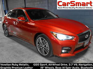 2014 Infiniti Q50 Sport AWD, Spotless Condition, Accident Free