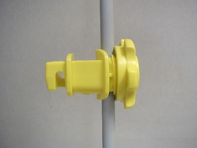 Dare - Western Electric Fence Insulators - For Fiberglass Or Steel Posts - 25pk.