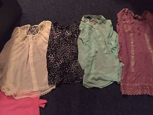 4 sheer tops all for 10$